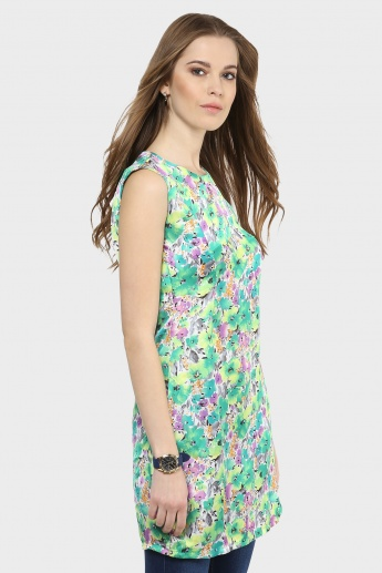 GINGER Floral Rush Tunic