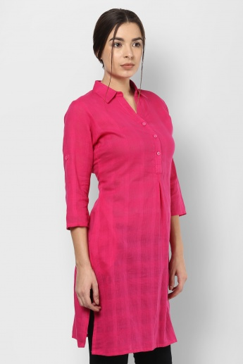 AND Shirt Collar Kurti