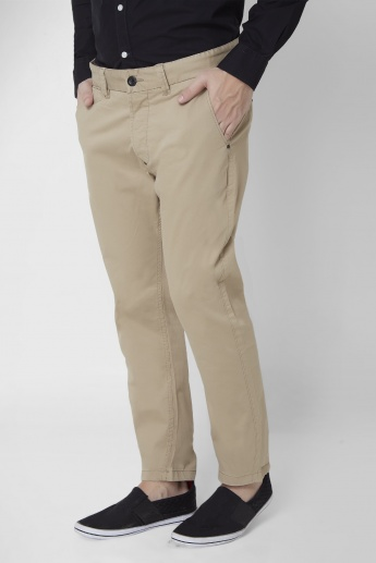 BREAKBOUNCE Upturned Hems Chinos