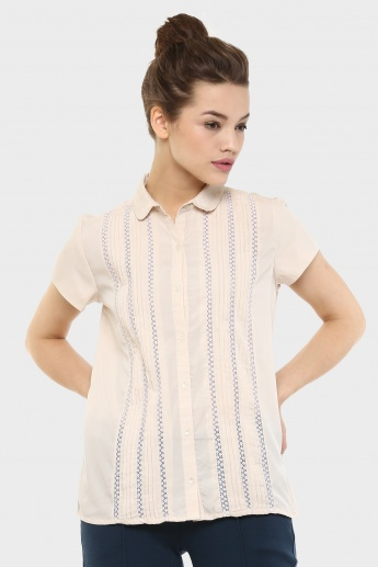 BOSSINI Peeking Trims Blouse