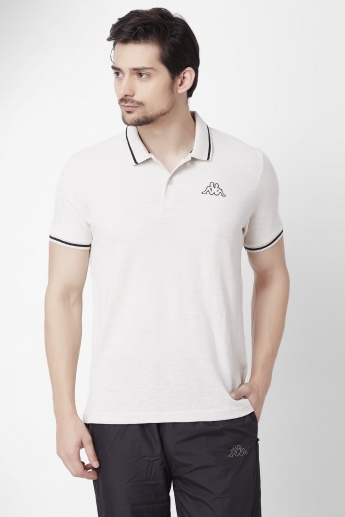 KAPPA Solid Half Sleeves Polo T-Shirt