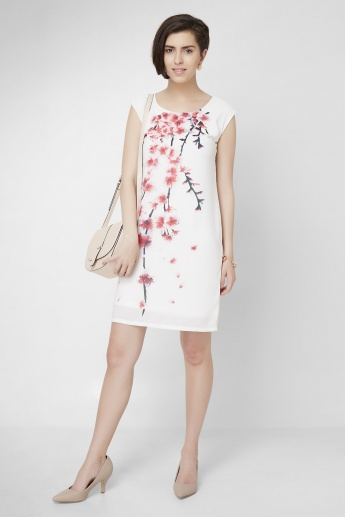 CODE Floral Printed Shift Dress