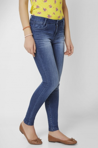 XPOSE Stonewashed & Whiskered Jeans