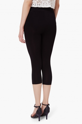 CODE Solid Elasticated Waist Leggings