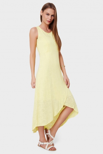 CODE Tulip Hem Sleeveless Dress