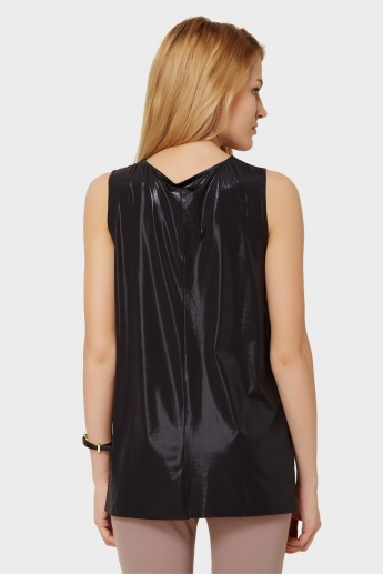 CODE Party Shimmer Sleeveless Top