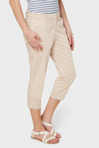 CODE Solid Pocketed Capris