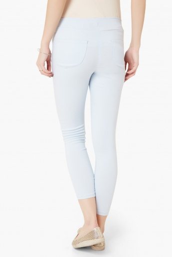 CODE Elasticated Waist Jeggings