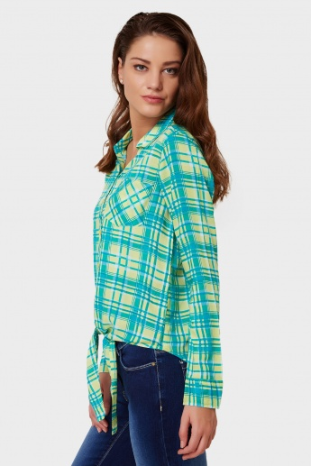 FAME FOREVER Full Sleeves Check Shirt