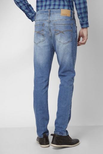 FORCA Lightly Faded Slim Fit Jeans