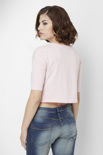 GINGER Boxy Crop Top
