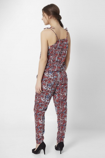 GINGER Palmgrove Strappy Jumpsuit