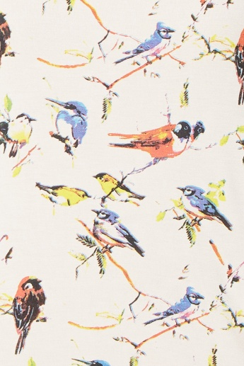 GINGER Chirpy Birds Top