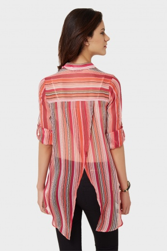 GINGER Striped Blouse