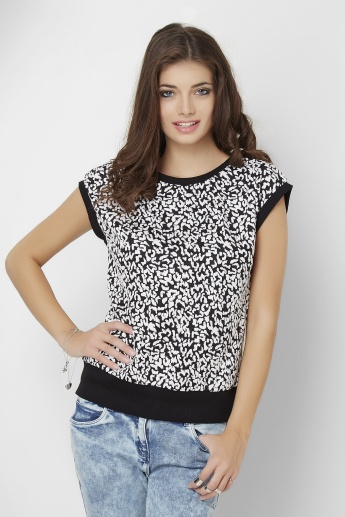 GINGER Leopard Printed Top