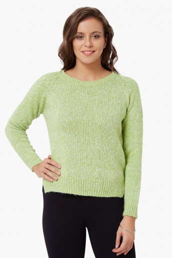 GINGER Lush Full Sleeves Sweater
