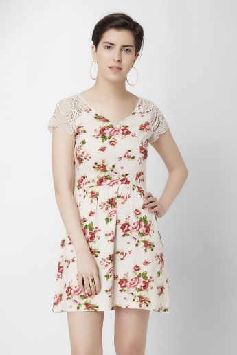 GINGER Floral Printed Dress