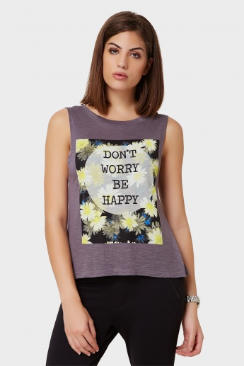 GINGER No Worry Muscle Top