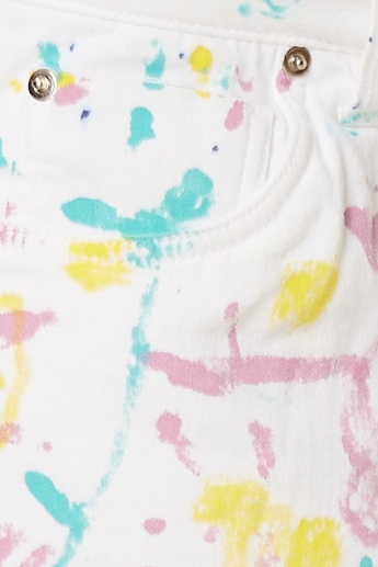 GINGER Paint Stroke Candy Land Shorts