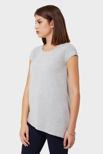 GINGER Solid Jersey Top