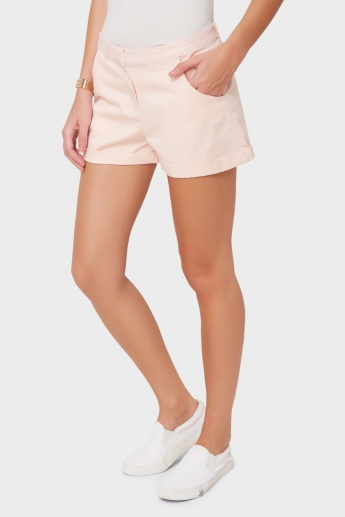 GINGER Solid Summer Shorts