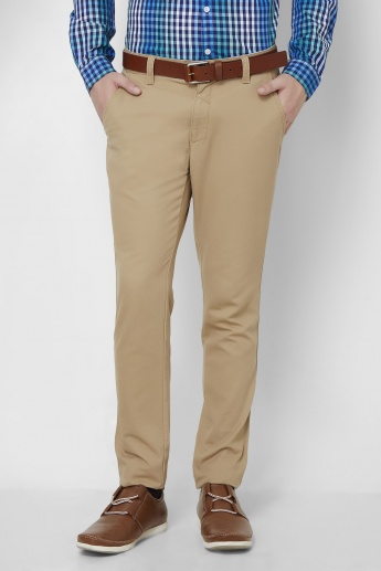 CODE Solid Slant Pocket Pants