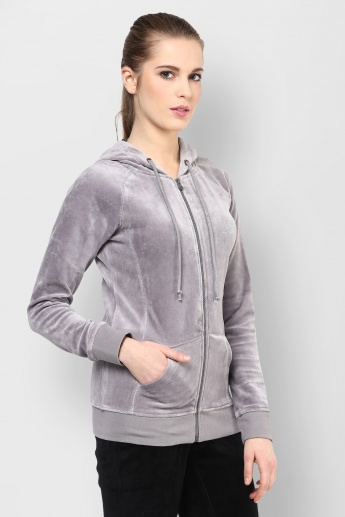 KAPPA Zip-Up Full Sleeves Sweatshirt