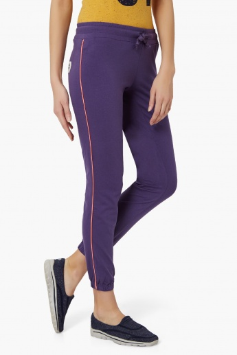 KAPPA Elasticated Ankle Trackpants