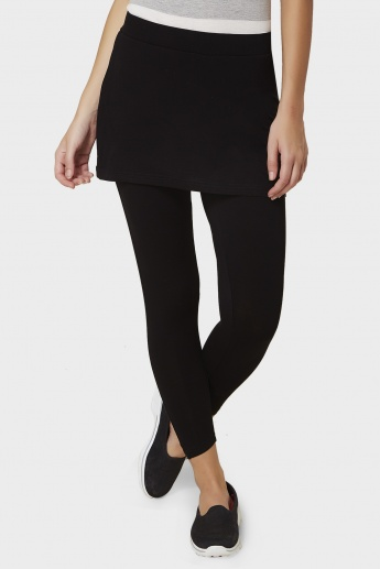 KAPPA Solid Skirt Leggings
