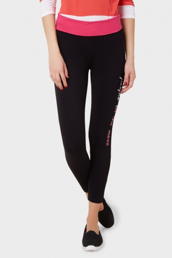 KAPPA High Waist Skinny Leggings