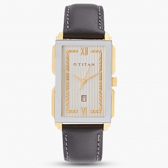 TITAN NF1485YL01 Analog Date Watch