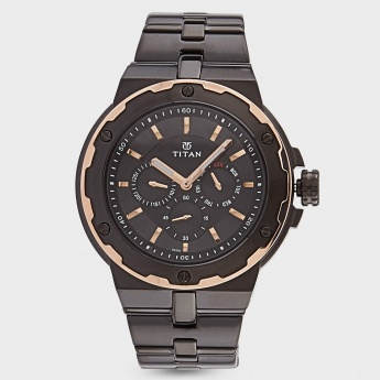 TITAN 1654KM04 Multifunction Watch