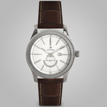 TITAN NE9386SL01J Men Analog with Date Watch