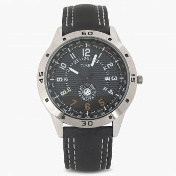 TIMEX TI000U90100 Analog with Day & Date Watch