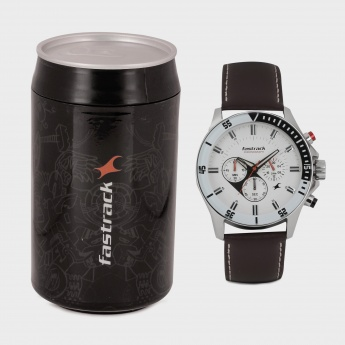 FASTRACK ND3072SL01 Chronograph Watch