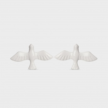 TONIQ Peaceful Dove Brooch - Set Of 2
