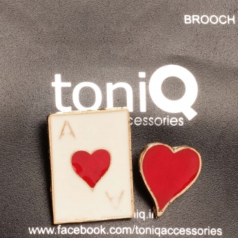 TONIQ Heart Lapel Pin