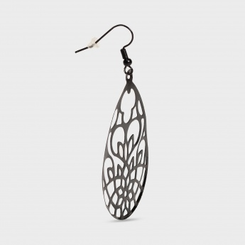 TONIQ Teardrop Cut-Out Earrings