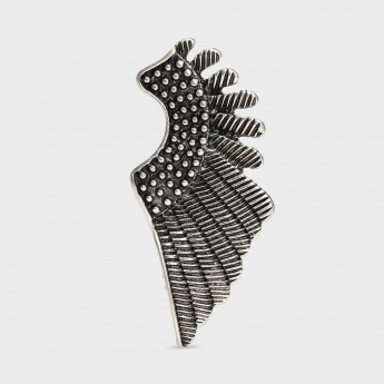 TONIQ Pretty Feather Stud Earrings