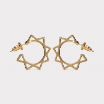 TONIQ Sun & Star Hoop Earrings