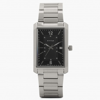 TITAN Steel Collection 1697SM02 Analog With Date Watch