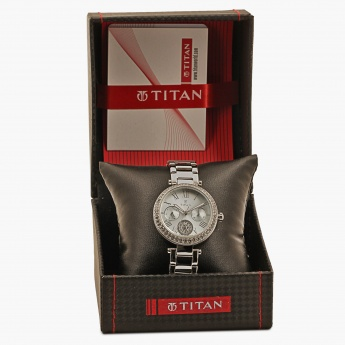 TITAN Purple 95023SM01J Multifunction Watch