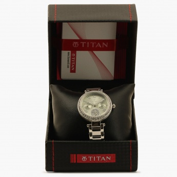 TITAN Purple 95023SM03J Multifunction Watch
