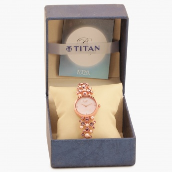 TITAN Raga 95032WM02J Analog Watch
