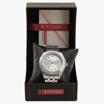 TITAN Octane NF9324SM02J Analog With Date Watch