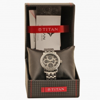 TITAN Purple NF9743SM02J Multifunction Watch