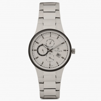 TITAN Steel Collection 9472KM01J Chronograph Watch