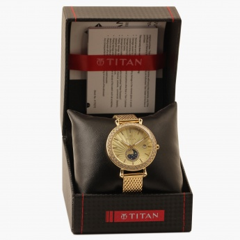TITAN Purple 95015YM01J Analog with Date Watch