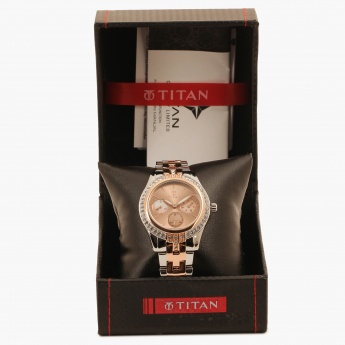 TITAN Purple 9968KM01J Multifunction Watch
