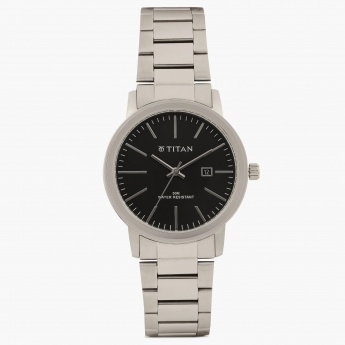 TITAN Steel Collection NE9440SM01J Analog with Date Watch